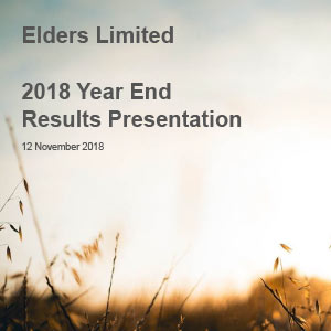2018 Full Year Results Presentation